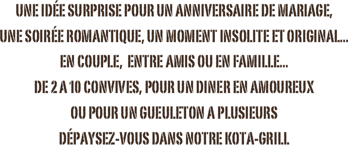 idee surprise anniversaire de couple